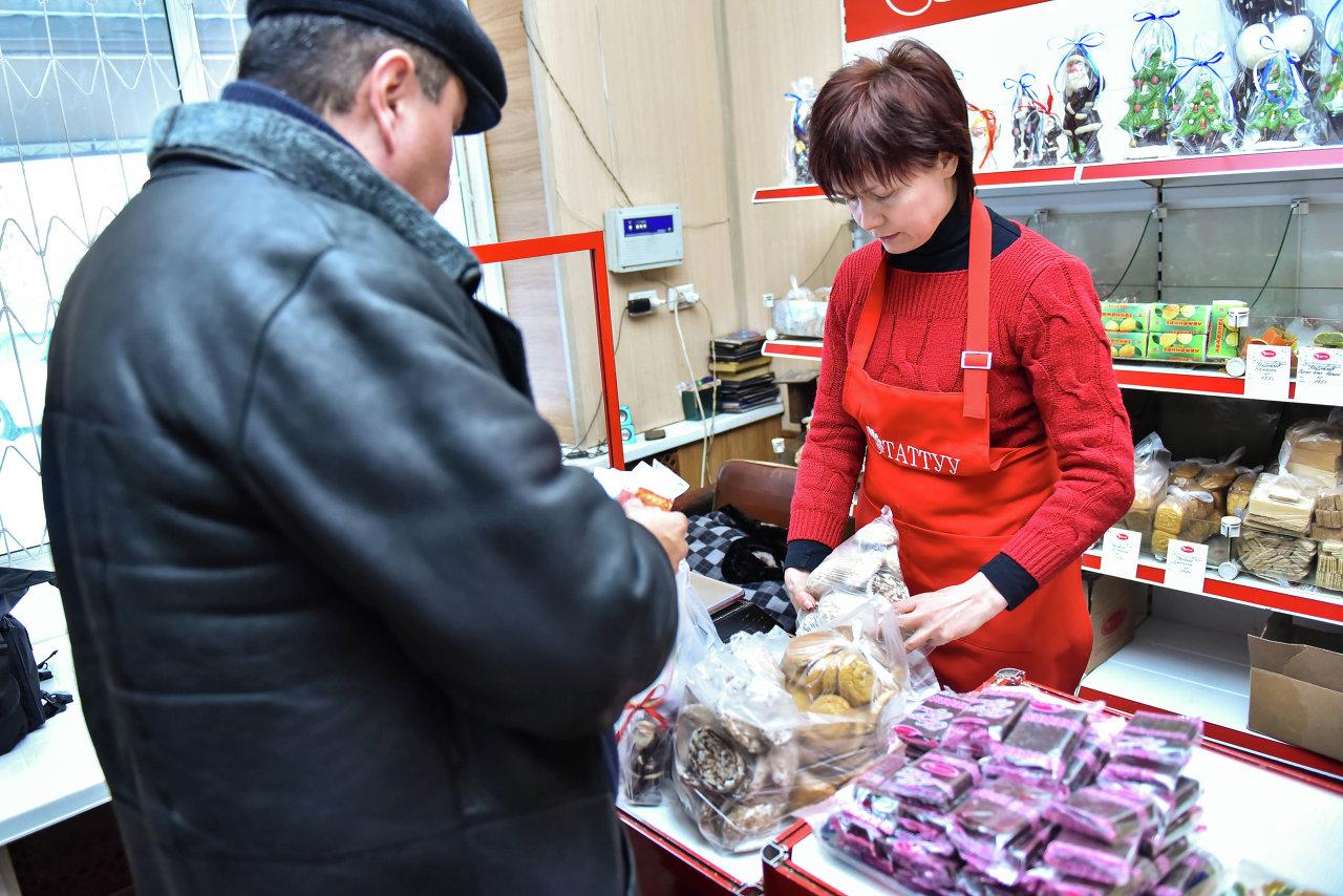 Покупателям предоставлен широкий ассортимент продукции.