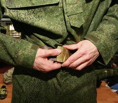Армияда кызмат өтүүчү. Архив