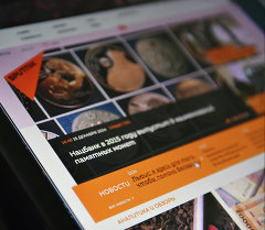 Страница сайта Sputnik Беларусь