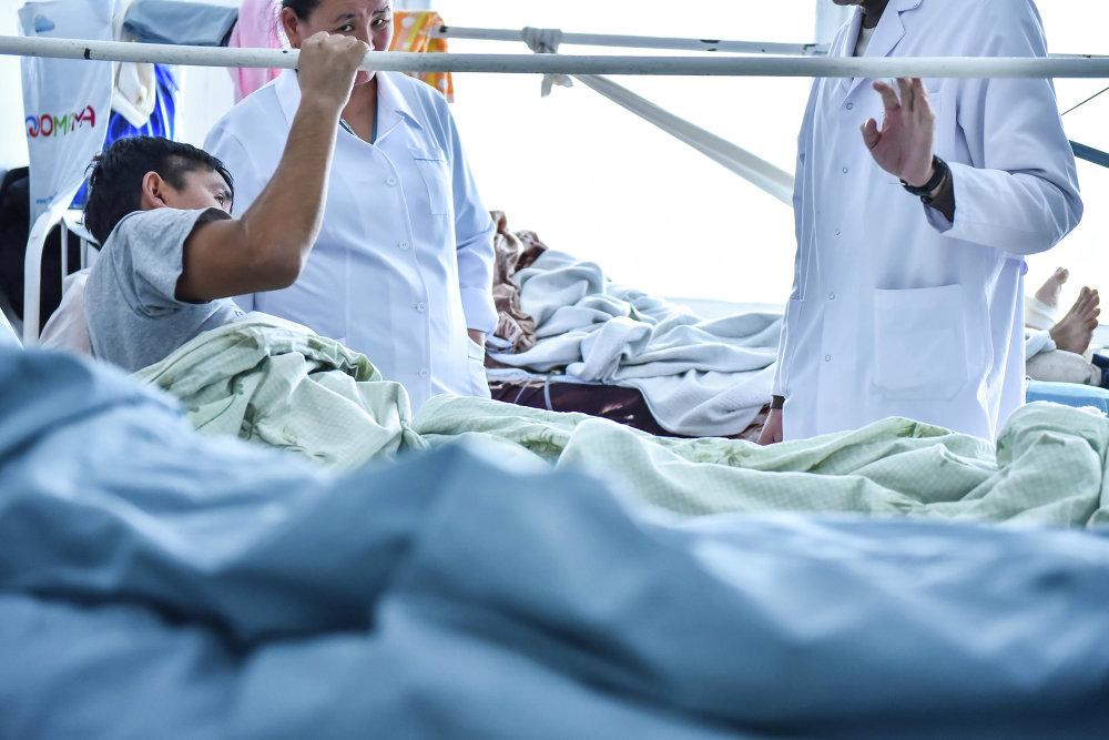 Обход и осмотр больных в травматологии лечащими врачами
