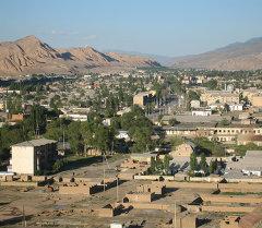 Панорама города Нарын