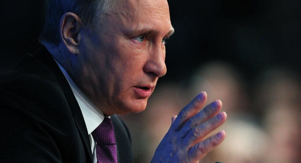 Десятая ежегодная большая пресс-конференция президента России Владимира Путина