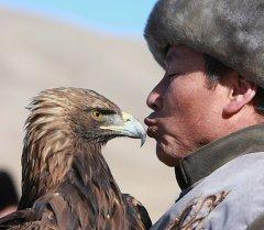 Национальная охота Салбурун