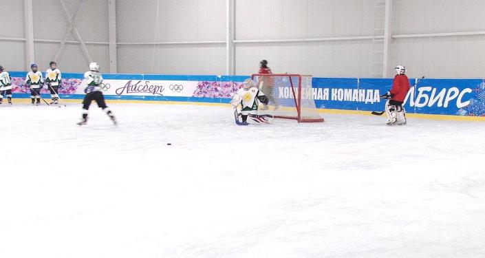 Хоккей боюнча балдар командасын Евразия кубогону узатуу