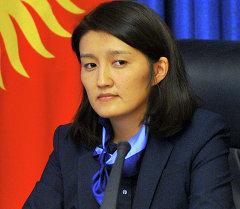 Вице-премьер-министр Эльвира Сариева