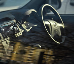 Салон праворульного авто. Архивное фото