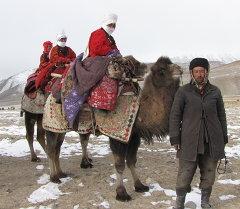 Памирде жашаган этникалык кыргыздар. Архив