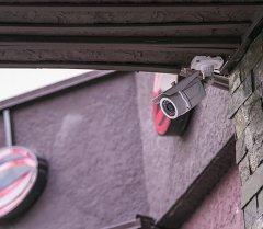 Камера внешнего видеонаблюдения на улице Киевская в городе Бишкек