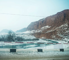 Верхне-Нарынский каскад ГЭС строится на русле реки Нарын
