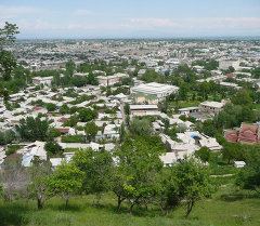 Вид на город. Архивное фото