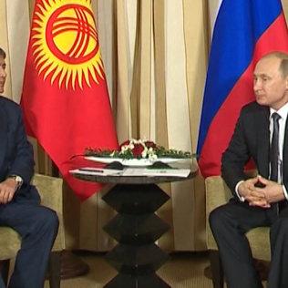 Кыргызстан менен Россиянын президенттери Кыргызстандын ЕАЭБке кирүүсүн талкуулашты