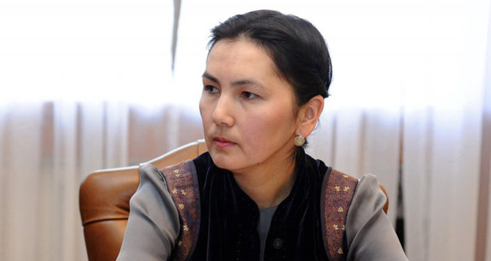 Мурдагы башкы прокурор Аида Салянованын архивдик сүрөтү