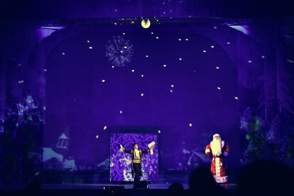 Новогодняя сказка для детей Волшебное королевство.
