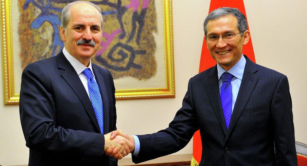 Премьер-министр Дж.Оторбаев и вице-премьер-министр Турции Нуман Куртулмуш обсудили вопросы расширения торгово-экономического сотрудничества