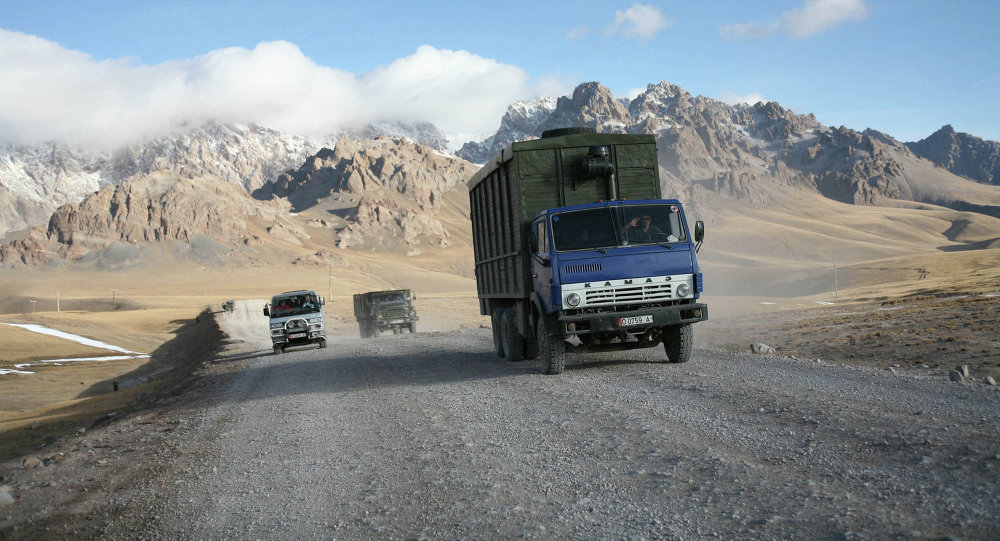 Зона таможенного контроля в Киргизии