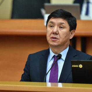 Темир Сариев министр экономики Кыргызской Республики. Архивное фото