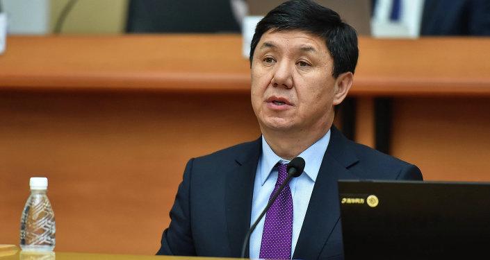 Темир Сариев министр экономики Кыргызской Республики