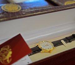 Наручные часы. Архивное фото