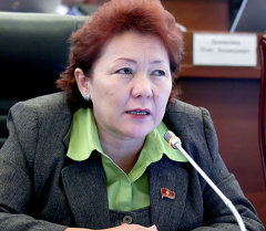 Жамгырчиева Гульнара Оморовна. Архивное фото