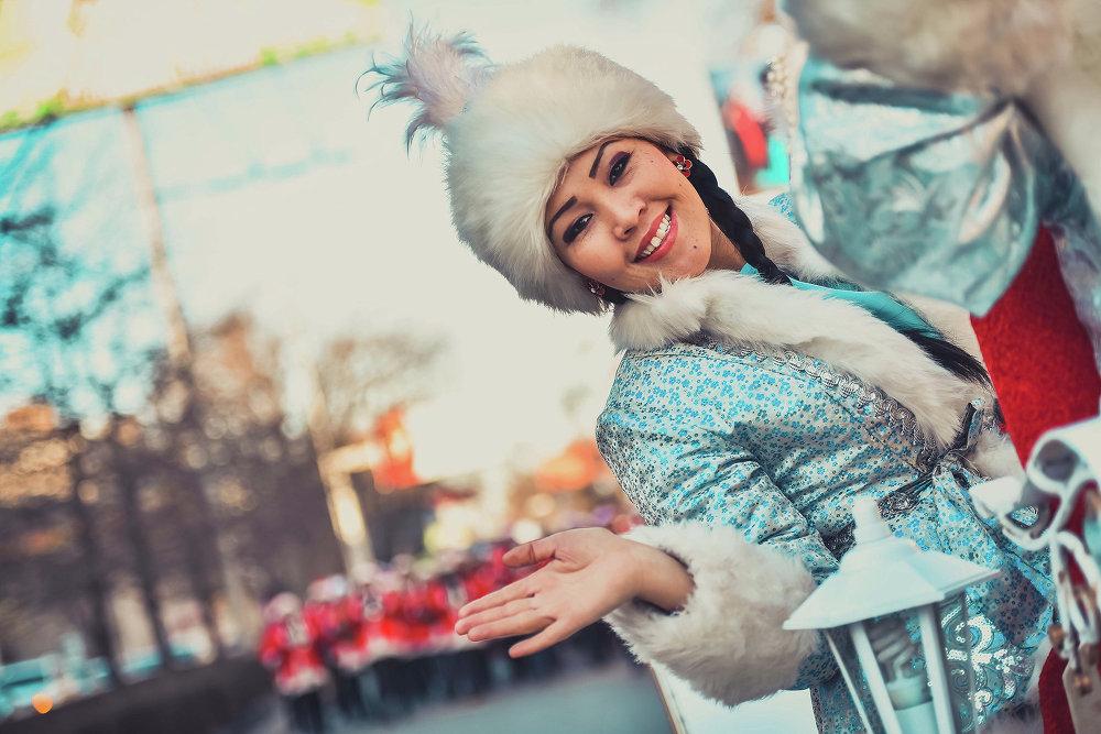 Кыргызская Снегурочка — Аяз кыз.