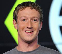 Основатель и гендиректор социальной сети Facebook Марк Цукерберг. Архивное фото