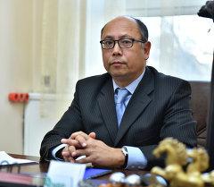 Заир Чокоев, советника председателя Национального банка Кыргызской Республики