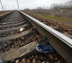 Электропоезд сбил людей на северо-западе Москвы