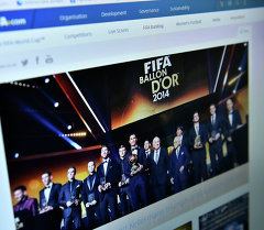 Страница сайта http://www.fifa.com/
