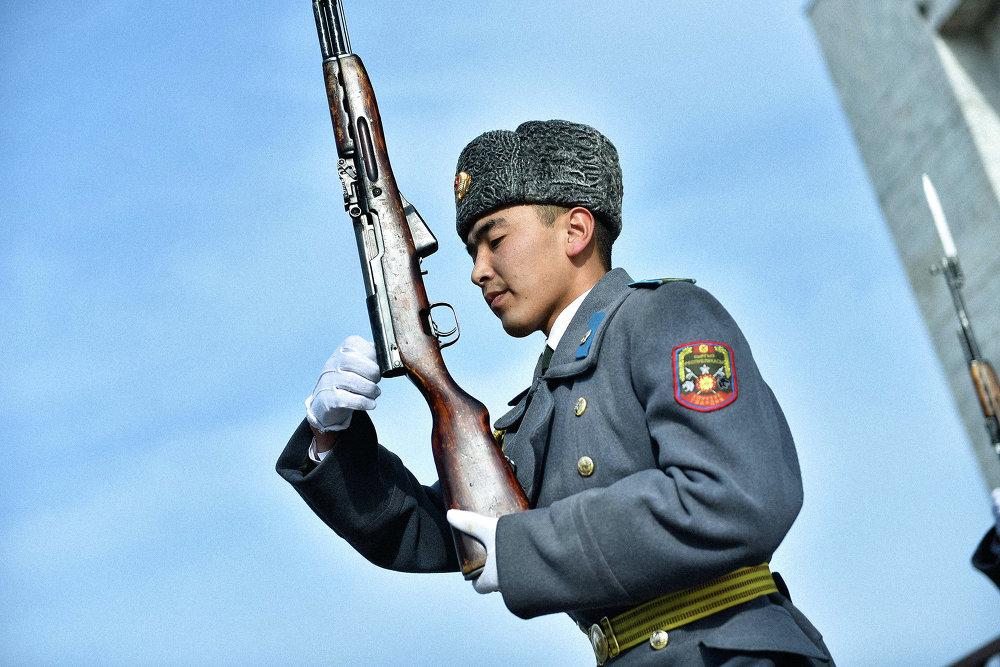 Служба в Национальной гвардии Кыргызстана