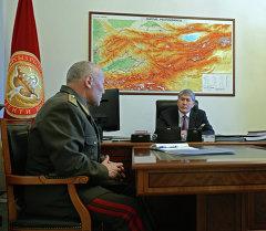 Алмазбек Атамбаев принял Асанбека Алымкожоева