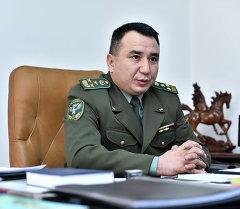 Начальник Государственной пограничной службы Кыргызстана Райимберди Дуйшенбиев