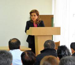 Вице-премьер-министр Дамира Ниязалиева. Архив