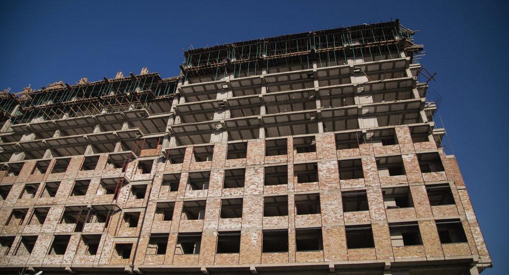 Высотный строительный объект в столице