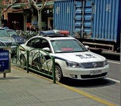 Полицейская машина в Китае