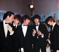 Легендарная британская музыкальняя группа Битлз. Архивное фото