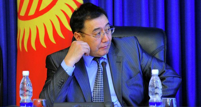 Вице-премьер-министр Кыргызской Республики Абдырахман Маматалиев