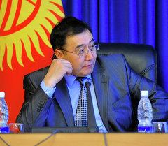 Вице-премьер-министр Абдырахман Маматалиев. Архив