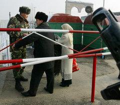 Граница Кыргызстана с Узбекистаном