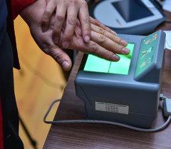 Работа по сбору биометрических данных населения