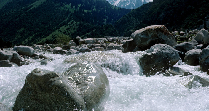 Горная река Ала-Арча