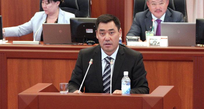 Архивное фото экс-депутата Садыра Жапарова