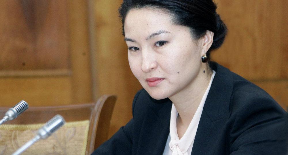 Архивное фото генерального прокурора КР Индиры Джолдубаевой