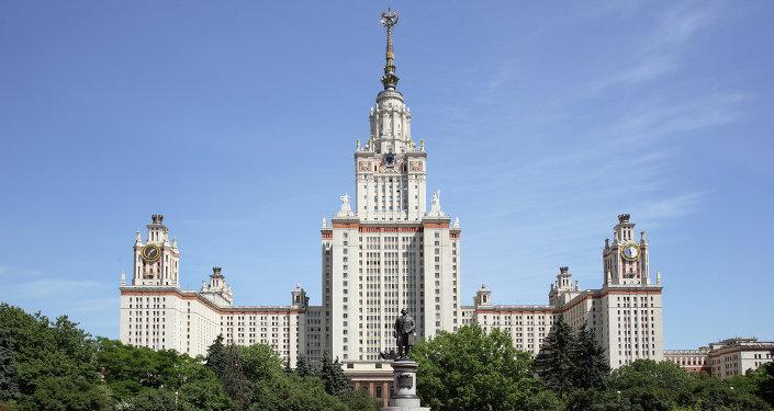 Главное здание МГУ имени М.В. Ломоносова