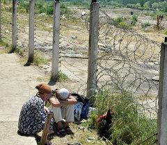 кыргызско-узбекская граница