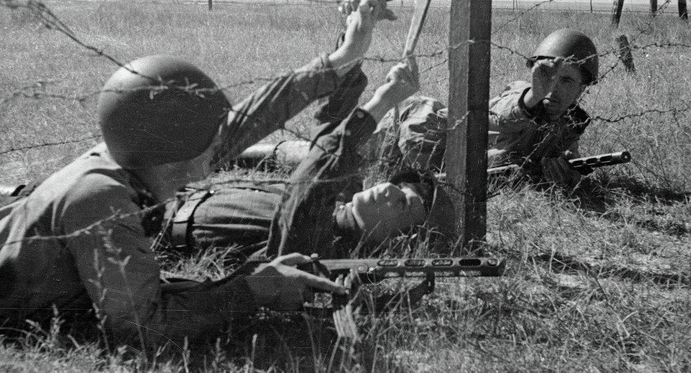 Cоветские саперы во время Великой Отечественной войны