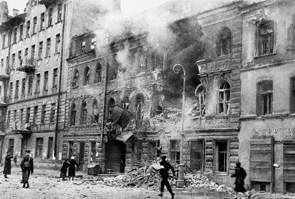 Обстрел Ленинграда