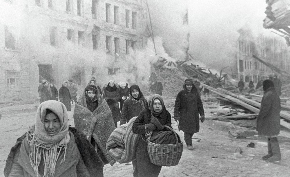 После бомбежки
