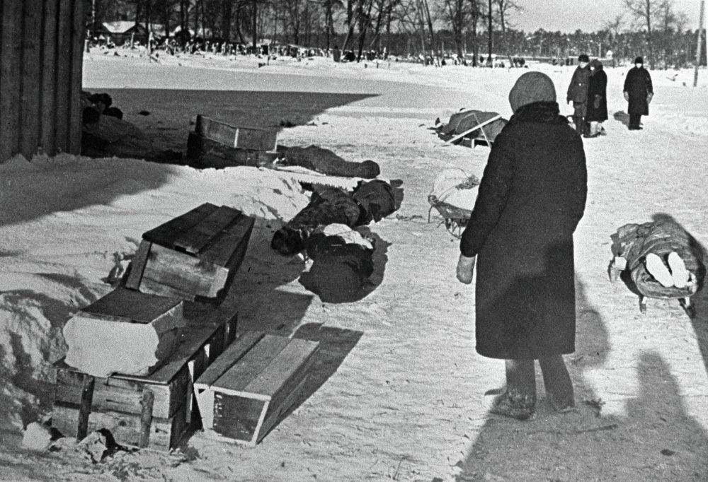 В дни блокады Ленинграда