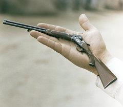 Миниатюрное ружье, изготовленное на Ижевском заводе