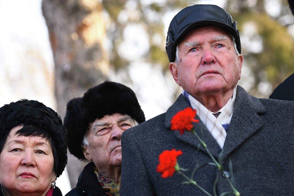 Митинг-реквием, посвященный 71-летию освобождения Ленинграда от блокады